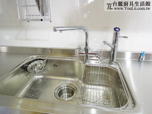 廚具案例分享-大吉熊KL-105R右海灣歐化單槽