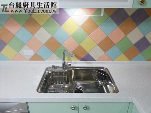 廚具案例分享-大吉熊KL-105左海灣歐化槽(全配)