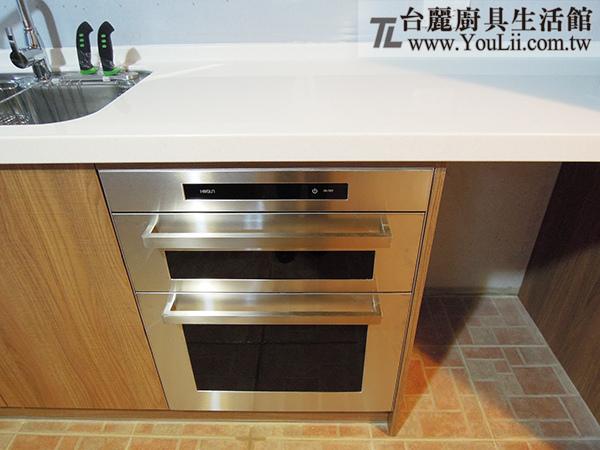 廚具案例分享-豪山觸控式立式烘碗機