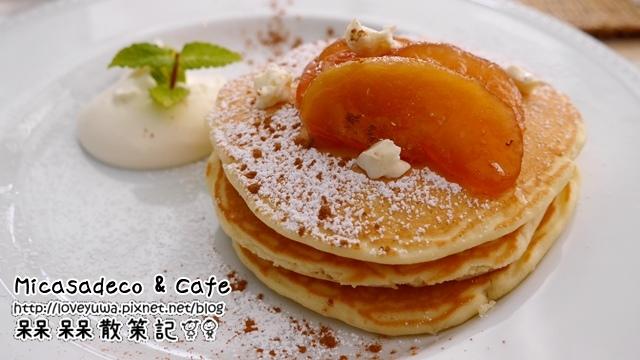 Micasadeco & Cafe大阪難波心齋橋超美味鬆餅早午餐