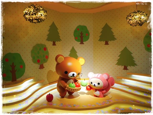 拉拉熊甜蜜的時光特展Rilakkuma