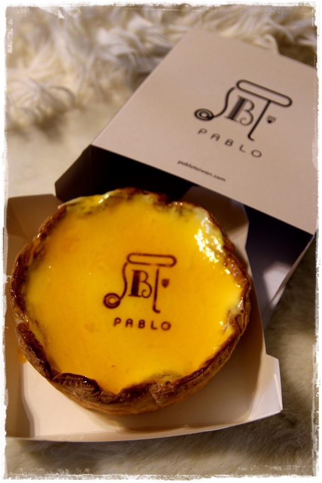 來自日本半熟起司塔PABLO  台北車站 台灣Pablo HOYII北車站