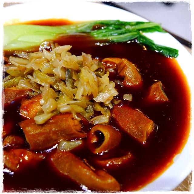 貳頭堂Er Tou Tang復古麵式新煮意「澆頭麵」「盆頭小菜」