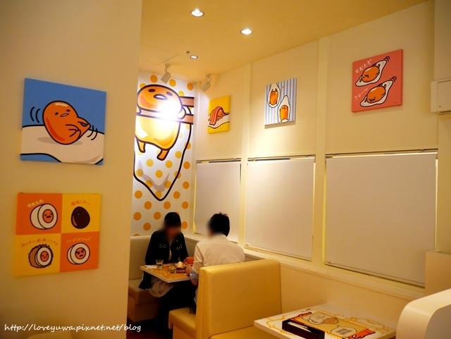 大阪蛋黃哥咖啡廳gudetamacafe