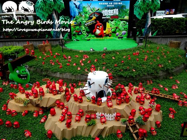 憤怒鳥玩電影2000隻憤怒鳥亞洲最大憤怒鳥巡迴展