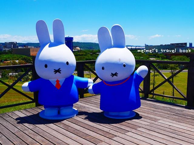 11隻miffy米飛兔八里文化公園