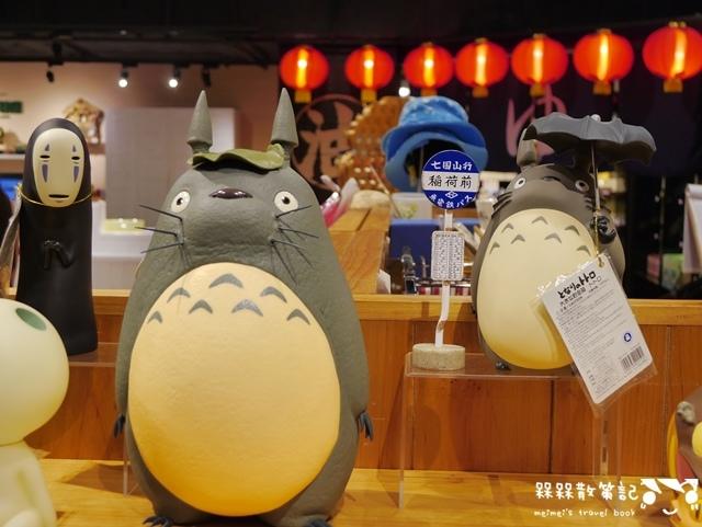 無臉男現身台灣台北吉卜力專賣店橡子共和國信義店