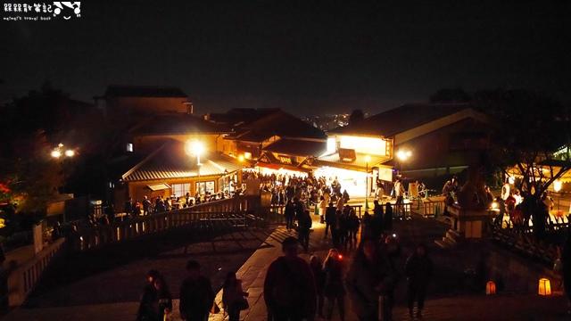 清水寺夜楓