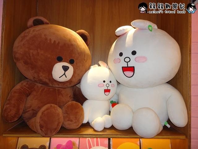LINE FRIENDS CAFESTORE熊大妹妹CHOCO熊美