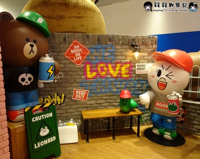 LINE FRIENDS CAFESTORE熊大妹妹CHOCO熊美