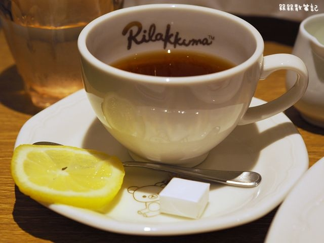 大阪天王寺Rilakkuma × auréole d'ange拉拉熊主題咖啡廳