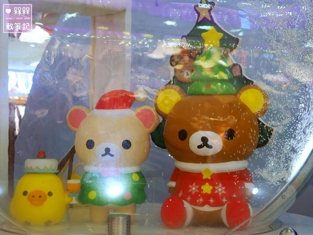 拉拉熊聖誕節夢幻雪國