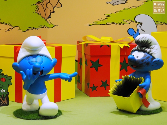 藍色小精靈愛在一起特展