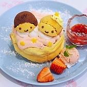 LittleTwinStars Twinkle Snow Café雙星仙子期間限定咖啡廳EGG%26;SPUMA (61).JPG