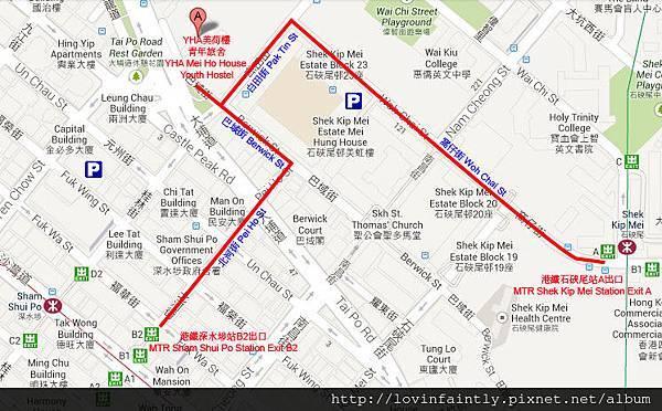 MHH at Google Map Final