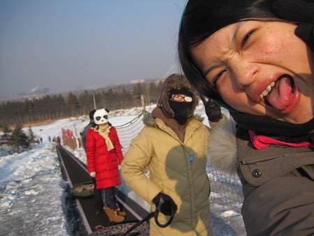 中國東北極凍之旅-哈爾濱滑雪趣-名都滑雪場_1397.JPG