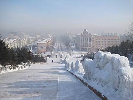 東北極凍之旅-中國最北的縣-漠河縣城_2960