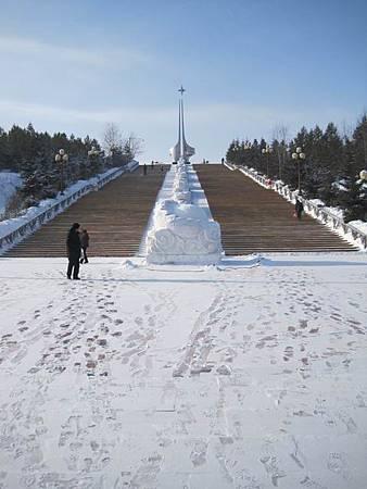 東北極凍之旅-中國最北的縣-漠河縣城_2963