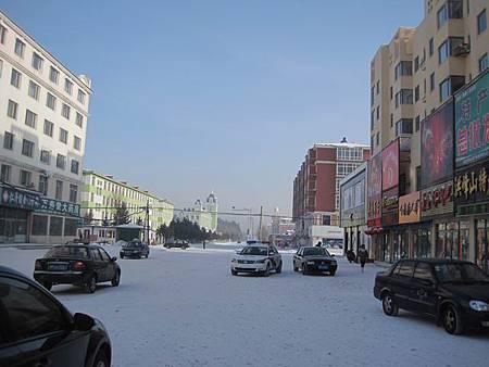 東北極凍之旅-中國最北的縣-漠河縣城_2966