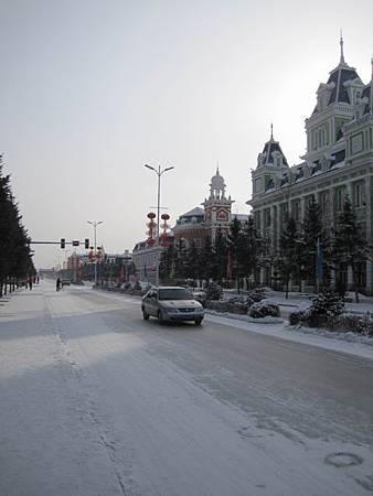 東北極凍之旅-中國最北的縣-漠河縣城_2973