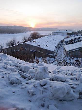 東北極凍之旅-中國最北的縣-漠河縣城_2983