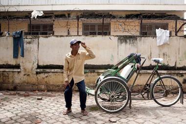 柬埔寨人力車
