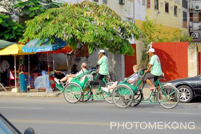 柬埔寨人力車2