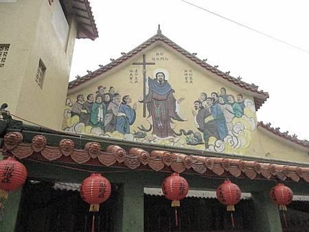 台南鹽水天主堂-全台最特殊的東西合併教堂-0_1.JPG