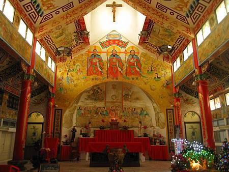 台南鹽水天主堂-全台最特殊的東西合併教堂-0_13.JPG