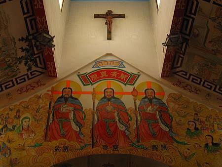 台南鹽水天主堂-全台最特殊的東西合併教堂-0_14.JPG