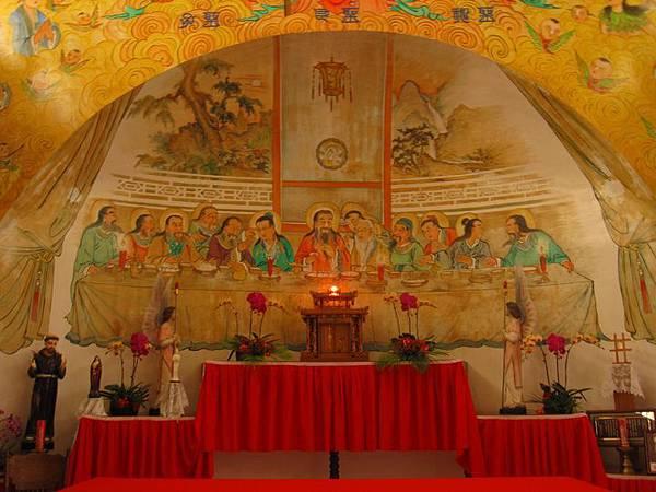 台南鹽水天主堂-全台最特殊的東西合併教堂-0_15.JPG