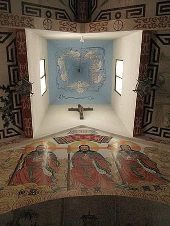 台南鹽水天主堂-全台最特殊的東西合併教堂-0_24.JPG