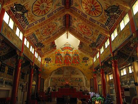 台南鹽水天主堂-全台最特殊的東西合併教堂-0_35.JPG