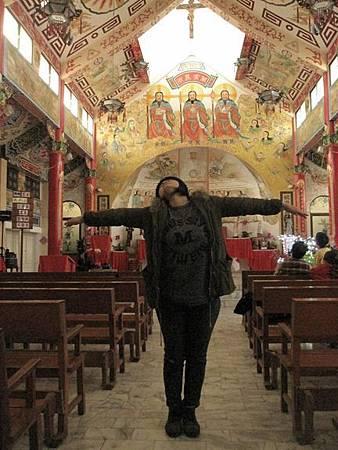 台南鹽水天主堂-全台最特殊的東西合併教堂-0_52.JPG