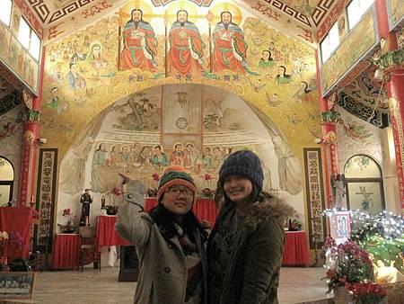 台南鹽水天主堂-全台最特殊的東西合併教堂-0_54.JPG