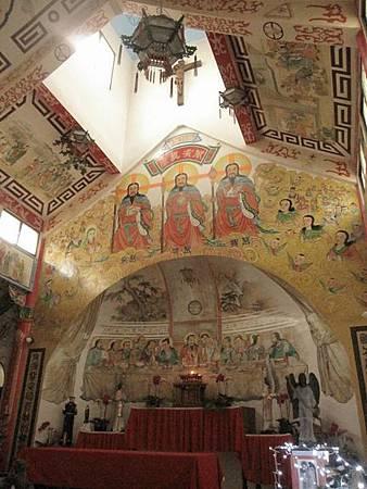 台南鹽水天主堂-全台最特殊的東西合併教堂-0_58.JPG