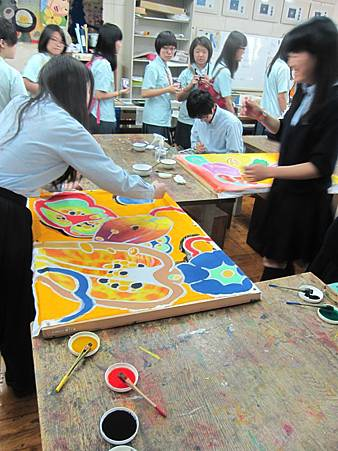 201405參訪大阪港南造型高校 赴日教育旅行_12.JPG