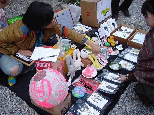 西門町生活藝術節---水越的攤位