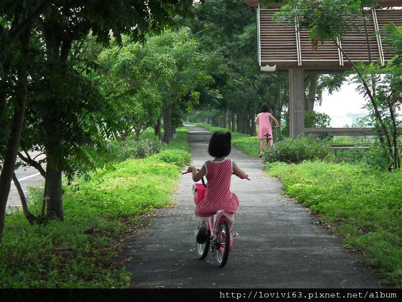 堤防騎單車記1.JPG