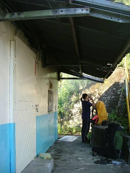 發電廠進水口小屋