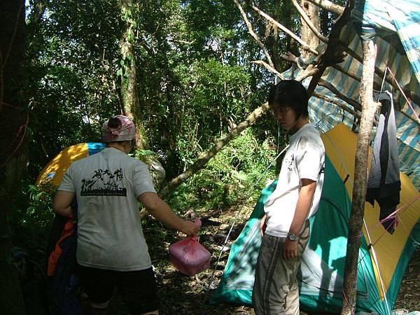 第一天營地