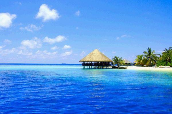 長灘島,另一個碧海藍天。