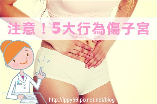 5大傷子宮行為