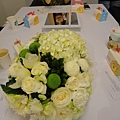 桌上的美麗盆花