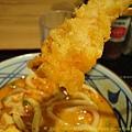 丸龜製麵 ~ 炸蝦 4