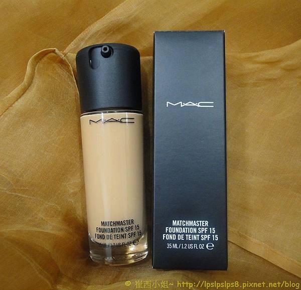 MAC智慧美肌粉底液外型包裝