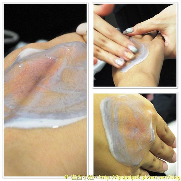 植物精萃潔顏油~鉛筆粉末的卸妝乳清潔過程