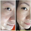 眼線變化 前後比較