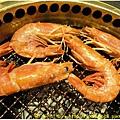 屋馬燒肉  蝦.JPG