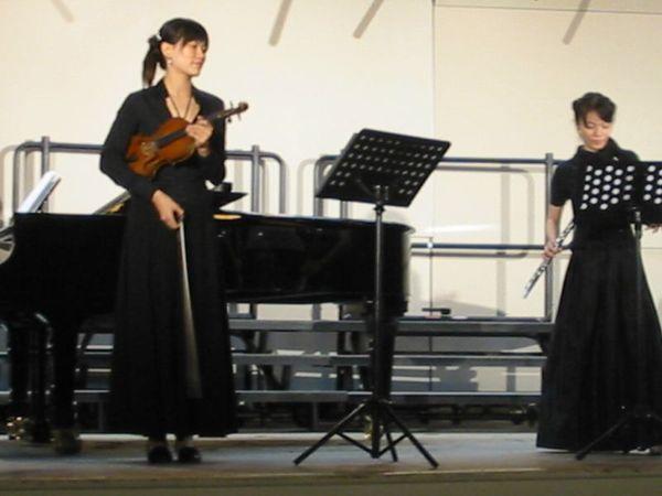 小提琴跟橫笛